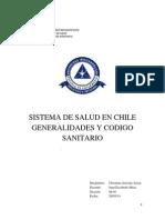 Sistema de Salud en Chile Generalidades y Codigo Sanitario