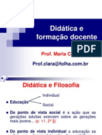 Didática e Formação Docente1