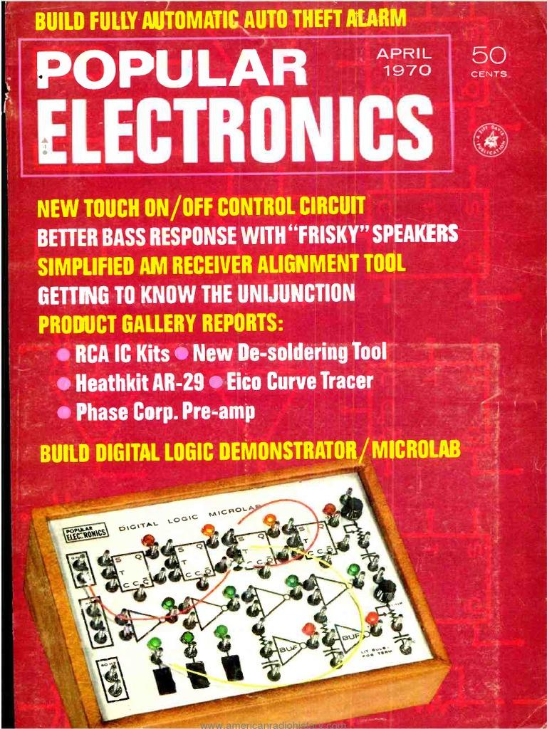 Pe197004pdf Electromagnetism Electrical Engineering Door Knob Touch Alarm Circuit Controlcircuit Diagram