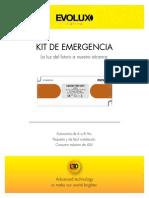 Ficha KIT Emergencia Extendido