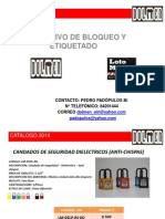 Catalogo Bloqueo y Etiquetas - Dolmen 2014