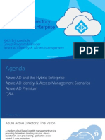 Azure AD IAM for Hybrid Enterprises -EBC Final May