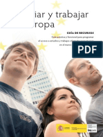 Guia Estudiar y Trabajar en Europa