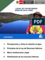 POLITICA Y ESTRATEGIAS DE RECURSOS HIDRICOS