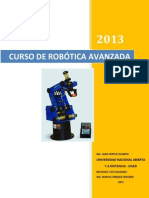 Curso de Robotica Avanzada 2014