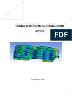 Solving problems in the dynamics with ANSYS.pdf