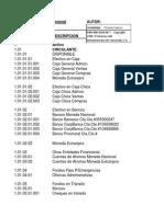 Plan de Cuentas CATACORA