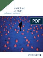El Modelo Eléctrico Español en 2030 - Escenarios y Alternativas