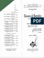 Jacomo Stávale - Elementos de Matemática - Quarto Volume - 3ª Ed. 1944