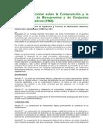 Carta Internacional Sobre La Conservación y restauración de monumentos y de conjuntos historiicos_artisticos