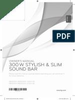 LG Soundbar Manual