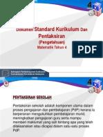1.DSKP Matematik Tahun 4 (Pengetahuan)