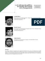 Desafios para el Consejo para la Transparencia en Chile