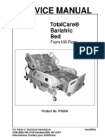 Hill-Rom TotalCare Bariatric Bed - Service Manual 0