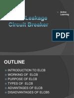 Earth Leakage Circuit B