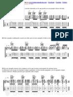 Ejercicios Del 1 Al 15 de La Clase de Funk en Guitarramoderna1