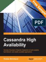 9781783989126_Cassandra_High_Availability_Sample_Chapter