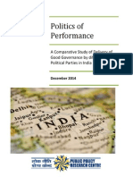 Politics of Performance - PPRC