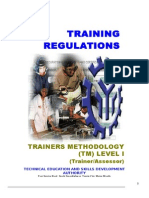 TR Trainers Methodology Level I
