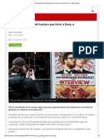 ¿Quién Está Detrás Del Hackeo Que Llevó a Sony a Autocensurarse_ - BBC Mundo