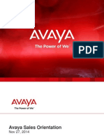 Avaya SalesTraining Nov27 2014