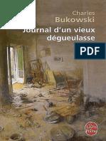 Journal D'Un Vieux Degueulasse - Charles Bukowski