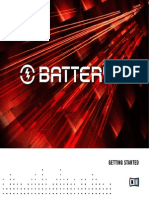 Native Instruments Battery 3 Getting Started English