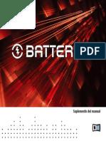 Native Instruments Battery 3 Manual Addendum Spanish