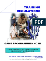 TR Game Programming NC III