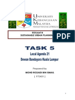 TASK 5 Local Agenda 21 by Rozaidi Ismail
