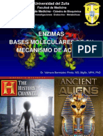 Clase Enzimas 1 Concepto y Mecanismo Termodinamico de Acción