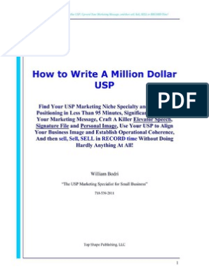 How to write a million dollar usp review guide prayer in public schools thesis