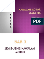 BAB 3 Jenis-jenis Kawalan Motor