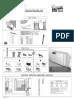 Manual Montaj Calorifere Linea Plus