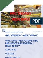 9. Arc Energy - Heat Input
