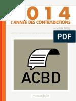 Rapport de l'ACBD