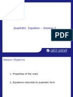02. Quadratic Equations-2