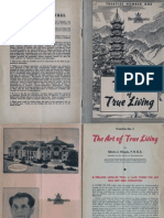 Art of True Living - Introductory Pamphlet
