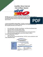 How to Fix Smartbro Slow Internet Connection