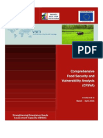 Comprehensive Food Security and Vulnerability Analysis (CFSVA) and Nutrition Survey World Food Program December 2006