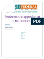 Performance Apprisal IDBI BANK