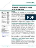 2009 Auto Components Outlook - Mirroring the OEMs