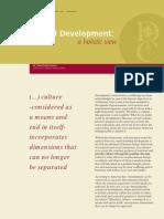 Cultural Development, A Holistic View