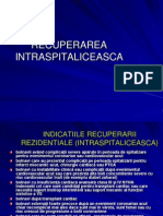 Recuperarea Intraspitaliceasca