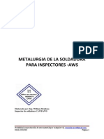 METALURGIA DE LA SOLDADURA PARA  INSPECTORES...Elaborado por..Ing. William Mendoza.pdf