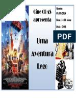 Cine Cras - Uma Aventura Lego