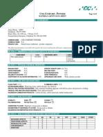 Coe Comfort Powder MSDS011509
