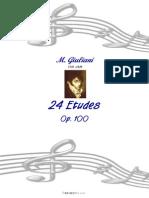 Mauro Giuliani - 24 Etudes