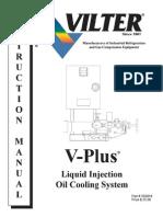 V Plus Liquid Inj Oil Cooling Manual X