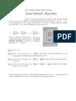 Harvey Mudd - Gram-Schmidt Algorithm